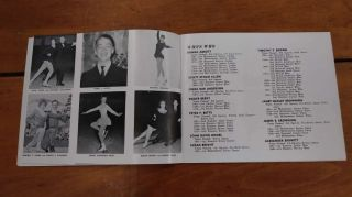 Broadmoor 1961 National Figure Skating Championships 1961 Program J81614 3