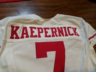 Colin kaepernick Jersey Game Issued Worn 2013 49ers 10