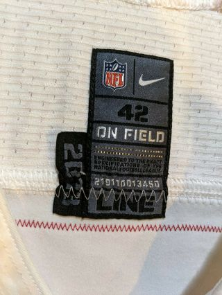 Colin kaepernick Jersey Game Issued Worn 2013 49ers 5