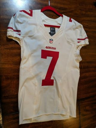 Colin kaepernick Jersey Game Issued Worn 2013 49ers 7