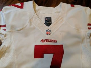 Colin kaepernick Jersey Game Issued Worn 2013 49ers 8