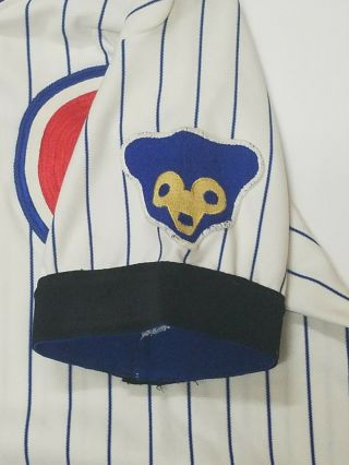 RICK REUSCHEL GAME - WORN CHICAGO CUBS JERSEY 1977 3
