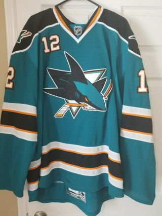 San Jose Sharks 2009 Patrick Marleau Game and Signed Jersey 2