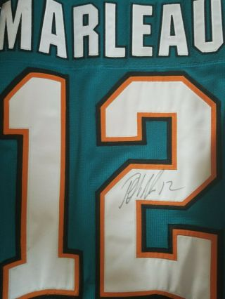 San Jose Sharks 2009 Patrick Marleau Game and Signed Jersey 3