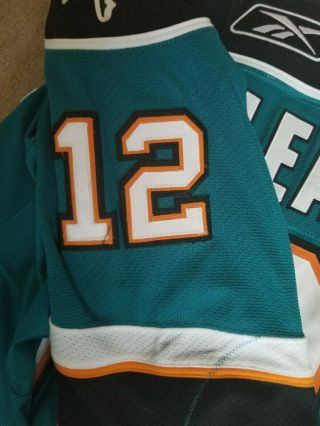 San Jose Sharks 2009 Patrick Marleau Game and Signed Jersey 4
