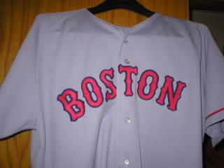 1995 Dave Oliver Boston Red Sox Game Worn Jersey