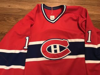 Late 80's Brian Hayward (goalie) Game Worn Montreal Canadiens Hockey Jersey