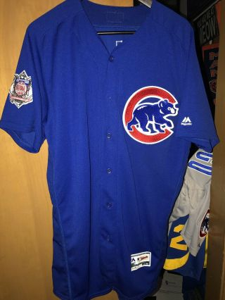 Jorge Soler - 2016 Chicago Cubs Game Jersey Championship Year Opening Day