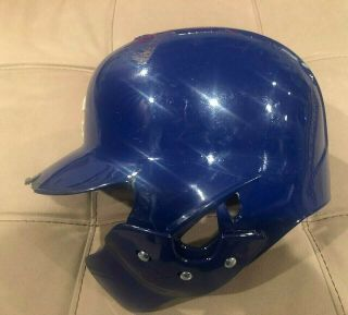 Javier Baez Game auto Helmet El Mago Chicago Cubs MLB Holo authenticated 2