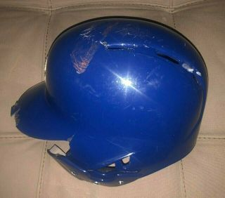 Javier Baez Game auto Helmet El Mago Chicago Cubs MLB Holo authenticated 6