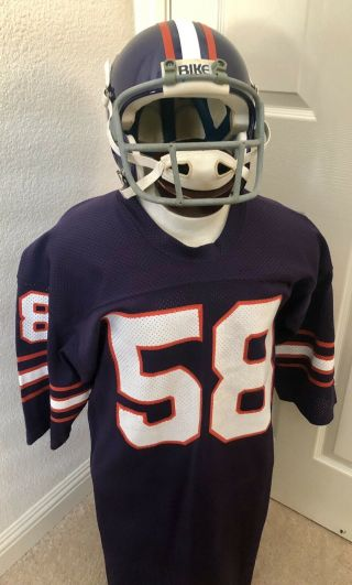 Usfl T.  K.  Ehlebraught Pittsburgh Maulers Game Worn Issued Champion Jersey