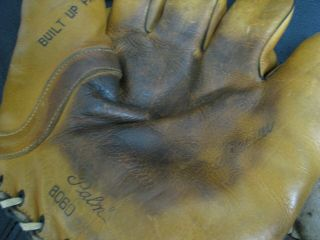 2 OLD BASBEALL GLOVES D&M AND STALL & DEAN SPECIAL 8060 6