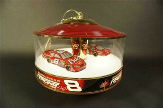Budweiser Dale Earnhardt Jr.  Nascar 8 Light - Up Rotating Carousel Tavern Light