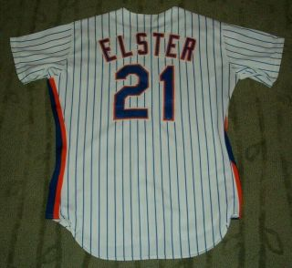 York Mets Kevin Elster Game Worn 1991 Jersey (rangers Dodgers Phillies)