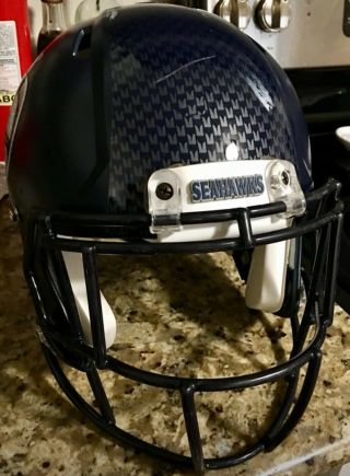 Shaquem Griffin Seahawks Game Worn Issued Helmet With
