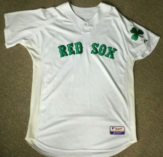 Boston Red Sox Game Worn/used St Patrick