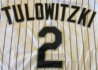 Yankees Ss Troy Tulowitzki Game Worn 2009 Jersey Pants Rockies Team Coas