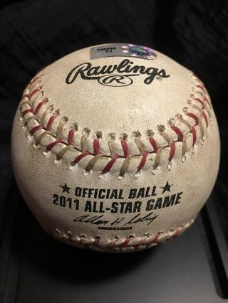 Roy Halladay Game 2011 All Star Game Baseball Mlb Authentic