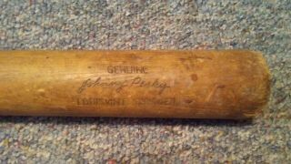 Circa 1950 Hillerich And Bradsby Johnny Pesky Game Baseball Bat N/r