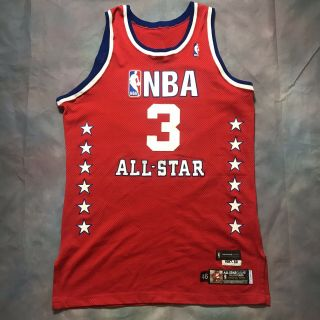 Authentic Stephon Marbury Game Issued 2003 All Star Game Jersey