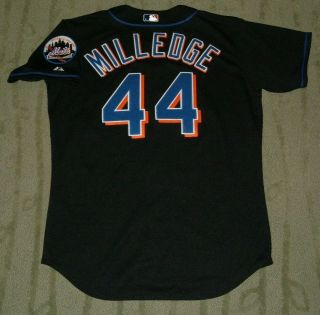 York Mets Lastings Milledge Game Worn Rookie Jersey (pirates Nationals)