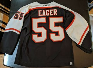 Ben Eager Philadelphia Flyers Game Worn Nhl Jersey Reebok 2006 - 07 Meigray