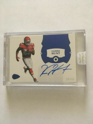 2018 Flawless Baker Mayfield GEM Rookie rc /15 DOUBLED DIE error = 1/1 one of SP 12