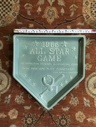 Red Wing Pottery 1965 All Star Game Plate