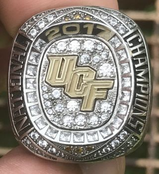 2017 University Of Central Florida Knights National Champions Championship Ring