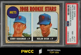 1968 Topps Nolan Ryan Rookie Rc 177 Psa 8.  5 Nm - Mt,  (pwcc - E)