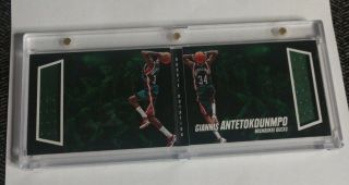 Giannis Antetokounmpo - 2013/14 Preferred - Rookie Jersey Book - 81/249 -