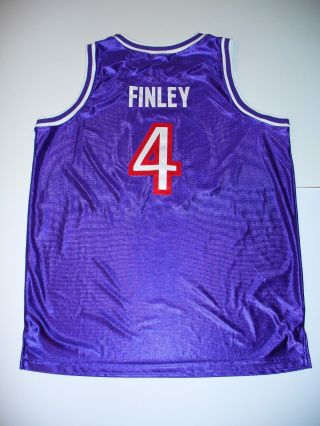 Michael Finley Game Issued Authentic 2001 Vince Carter Charity Game Jersey