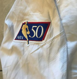 96 - 97 Ron Harper CHICAGO BULLS Game Worn Autograph Signed Warmup NBA Jacket 4