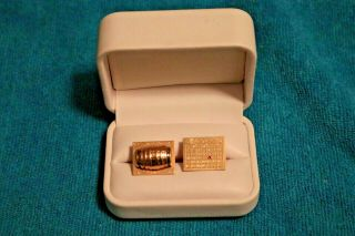 1969 Ny Mets World Series Cufflinks Presented To Ralph Kiner