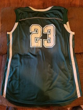 Lebron James Game Worn High School Jersey And Shorts With 2
