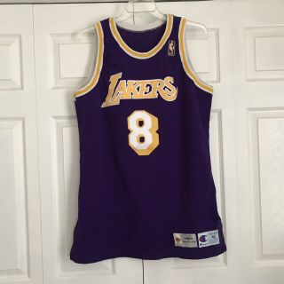 Kobe Bryant Game Worn 96 - 97 Rookie Jerseys