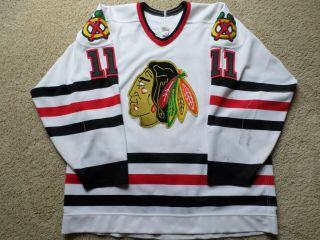 88 - 89 Chicago Blackhawks Game Worn Jersey 11