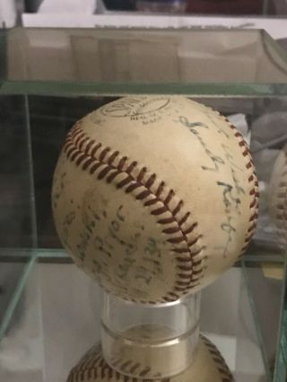 Sandy Koufax perfect game/ no hitter game ball 9/9/65. 4