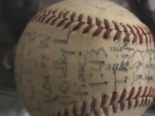 Sandy Koufax perfect game/ no hitter game ball 9/9/65. 6