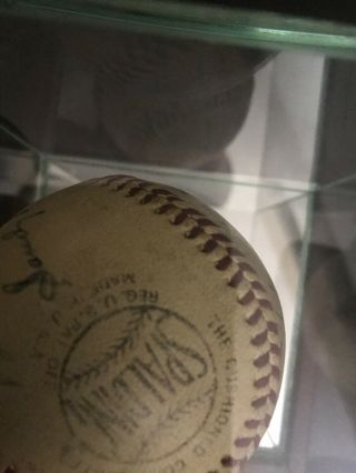 Sandy Koufax perfect game/ no hitter game ball 9/9/65. 8