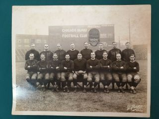 1924 Worlds Champion Chicago Bears - Photograph - W/ Flaherty Cutout