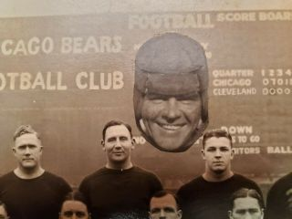 1924 Worlds Champion Chicago Bears - Photograph - W/ Flaherty Cutout 8