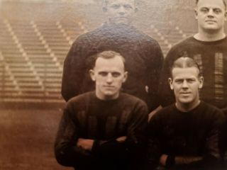1924 Worlds Champion Chicago Bears - Photograph - W/ Flaherty Cutout 9