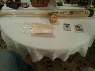 Fantastic Tony Gwynn Autographed All Star Bat - Baseball & Baseball Cards
