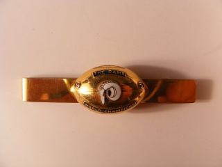 1951 LOS ANGELES RAMS WORLD CHAMPION CHAMPIONSHIP TIE CLIP 14K Gold 10