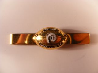1951 LOS ANGELES RAMS WORLD CHAMPION CHAMPIONSHIP TIE CLIP 14K Gold 4