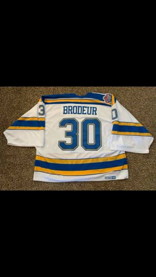 Martin Brodeur Jersey (possibly Gw Alumni Classic Game) Nhl St.  Louis Blues