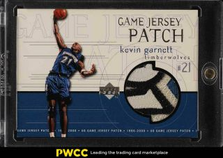 1999 Upper Deck Game Jersey Kevin Garnett 4 - Clr Patch Gjp5 (pwcc)