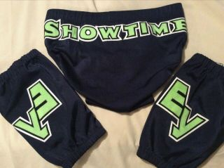 Eric Young Ring Worn Wrestling Trunks & Kneepads Tna Wwe Insanity