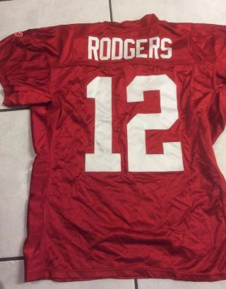 2008 Packers Practice / Game Issued Jersey,  No 12,  (aaron Rodgers)